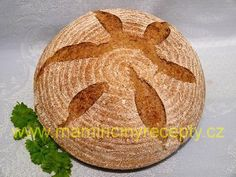 Bezlepkový chléb s psylliem Bread, Food, Brot, Essen, Baking, Meals, Breads, Buns, Yemek