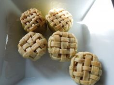 Apple pie in apple