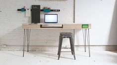 "The Flip Desk  Could do this much easier in the ""modern builds"" style"