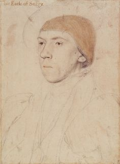Henry Howard, Earl of Surrey, c.1533-6, by Hans Holbein the Younger