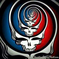Grateful dead Grateful Dead Quotes, Grateful Dead Poster, Grateful Dead Wallpaper, Hippie Life, Forever Grateful, Skull Art, Rock Art, Trippy, Graffiti
