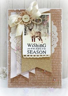 Hello.........I have really enjoyed having some time today to create a few Christmas themed cards and a birthday card. ...