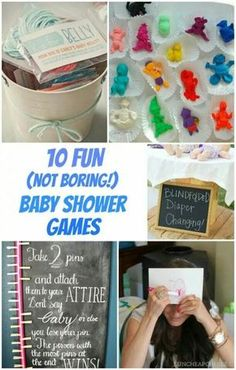 Delightful 10+ Fun Baby Shower Games