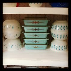 There should be a limit of certain pyrex promos one can acquire... After which its catch and release. It's a vintage pyrex fair distribution act.