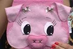 Resultado de imagem para molde porquinha