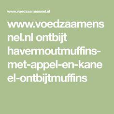 www.voedzaamensnel.nl ontbijt havermoutmuffins-met-appel-en-kaneel-ontbijtmuffins