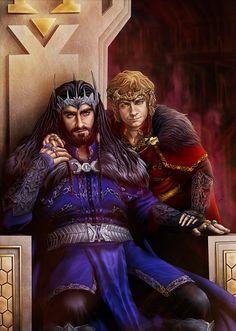 Thorin and Bilbo