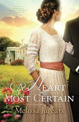 An excellent new historical romance from Melissa Jaguars #amreading #Chrisfic http://christianreads.blogspot.co.nz/2016/08/review-heart-most-certain-by-melissa.html
