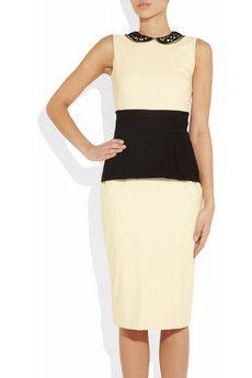 Preen two-tone dress