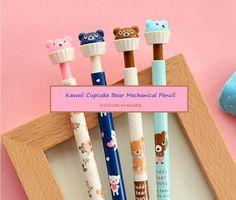 Kawaii Cupcake Bear Mechanical Pencil