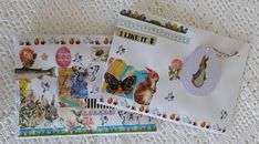 Fasters korthus: more sweet envelopes..