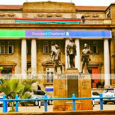 The native troops stand guard with the national flag high Street Art Photography, National Flag, Troops, Kenya, World, Artwork, Painting, Beautiful, Work Of Art