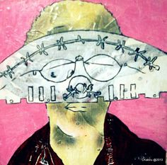 Cyrus Kabiru Art | Cyrus Kabiru currently practices in Nairobi. He is a self taught painter and sculptor. His paintings are often humorous portrayals of contemporary living within Kenya. Kabiru adopts the role of a... Contemporary African Art, Nairobi, Kenya, Eyeglasses, Paintings, Illustrations, Sculpture, Artist, Drawings