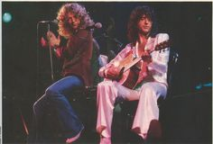 Robert Plant & Jimmy Page, Led Zeppelin John Bonham, John Paul Jones, Jimmy Page, Jimmy Jimmy, Great Bands, Cool Bands, El Rock And Roll, Robert Plant Led Zeppelin, Greatest Rock Bands