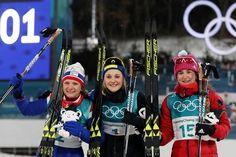 Cross Country SkiingLadies Sprint Classic. Gold - Stina Nilsson - Sweden, Silver - Maiken Caspersen Falla - Norway, Bronze - Yulia Belorukova - Russia
