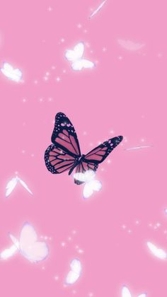 Pink butterfly 💕✨