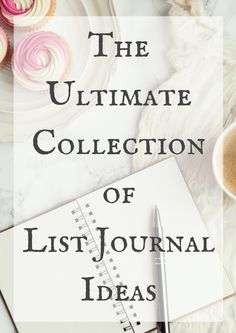 I love journaling. One of my favorite types of journals is a list journal. Basically, this is just a journal where you create lists about anything you want to create a list about. Sometimes I want to write, but I don't know what to write about, or I'm not looking for any kind of deep...Read More