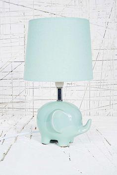 Elephant Lamp EU Plug in Mint - Urban Outfitters