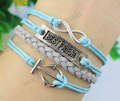 KarmaBest friend braceletfriendship by themagicbracelet on Etsy, $4.99