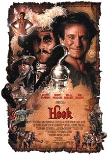Hook is a 1991 American fantasy comedy adventure film directed by Steven Spielberg Frank Marshall, 1990s Films, Pirate Movies, Watch Free Movies Online, Epic Movie, Adventure Film, Movie Themes, Fantasy Movies, Tv Shows Online