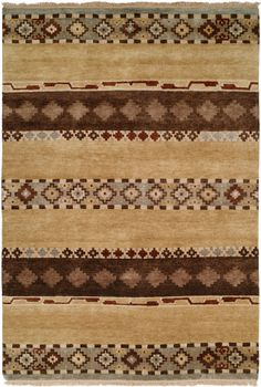 RugStudio presents Famous Maker Mojore 100696 Hand-Knotted, Best Quality Area Rug