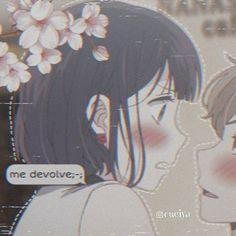 No photo description available. Kawaii Anime Girl, Manga Kawaii, Anime Art Girl, Anime Couples Drawings, Anime Couples Manga, Cute Anime Couples, Otaku Anime, Anime Chibi, Anime Negra
