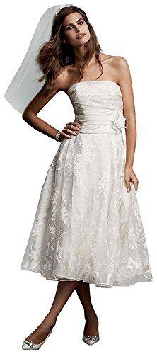 Short Organza Wedding Dress