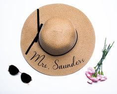 d5741036d04 Excited to share this item from my  etsy shop  Personalized Sun Hat - Floppy