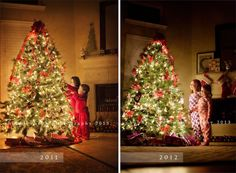 the tradition, the tree and the tutorial… how to photograph your kids and your Christmas tree