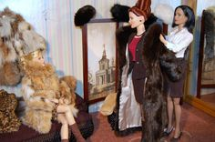 Barbie goes fur shopping