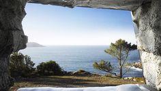 Luxus Schlafzimmer in einer Höhle - fresHouse
