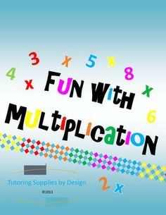 Multiplication Games {Printables}