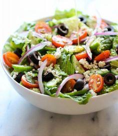 Salade grecque #greeksalade #salade #food
