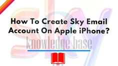 """Please Rate Now creating a Sky email account on your Apple iPhone is very easy. To do this, just follow the steps mentioned below: STEP 1: Switch """"on"""" your Apple iPhone and go to the """"Settings"""" tab. Once you are on the """"settings"""" tab, you have to select the option """"Mail, Contacts, Calendars"""". On this…"""