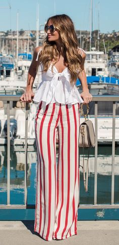 Coastal living coastal living summer outfits, fashion и summ Summer Pants Outfits, Cute Outfits With Jeans, Summer Outfits Women, Chic Outfits, Fashion Pants, Fashion Outfits, Womens Fashion, Blazers, College Outfits