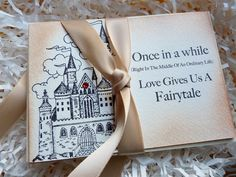 Wedding Fairytale Love Thank You Cards Vintage Style Swarovski Accent Set of 10. $37.50, via Etsy.