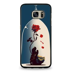 Enchanted Rose Beauty And The Beast Poster Samsung Galaxy S7 Edge Case | yukitacase.com
