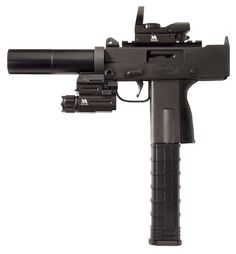 """MasterPiece Arms Mini Pistol 9mm 3.5"""" Tactical Pistol Package"""