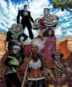 Outback X-men Finished by RonAckins on DeviantArt