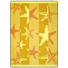 """Starfish Outdoor Rug- 7'8"""" x 10'9""""  **Click and check out our website! To view the different sizes and shapes in this rug/Carpet as well as all the other color options available.**"""