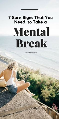 A mental break can be many different things, from deep breathing for 5 minutes, to a full hour of yoga or meditation. Whatever a mental break means to you, you and your body deserve one.  #selfcare #destress #tipsforstress  #wellbeing