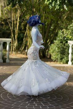 Kelly Kirstein — Lapis solo shot from the Gem Wedding inspired by...