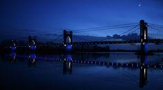 Pont de Langeais (37) - 1er prix du concours lumière 2007 - Neo Light - Conception lumière - Concepteur lumière - Sylvain Bigot