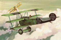 Fokker Dr.I by Don Greer                                                                                                                                                                                 More
