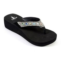 d32083fa4aa5cc Corkys St. Thomas Women s Jeweled Flip-Flops St Thomas