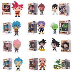 Funko Pop Anime Dragon Ball Z Super Saiyan Vinyl Action Figures Collectible Toy for sale Action Toys, Action Figures, Funko Pop Anime, Funk Pop, Goku And Vegeta, Super Saiyan, Toy Sale, Dragon Ball Z, Collection