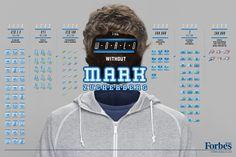 [Infographie] Le monde sans Bill Gates et Mark Zuckerberg Bill Gates, Richard Branson, Tiger Woods, Cannes, Donald Trump, Social Business, Business Men, Successful Business, Keynote Speakers