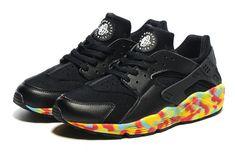 huge selection of 3ecbe b1ebf Huarache Nike Air Huarache Black Colorful 36-46-8111733- Whatsapp86  17097508495
