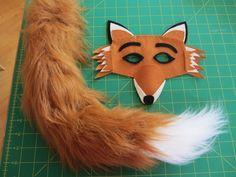 World book day costume idea - Fantastic Mr Fox
