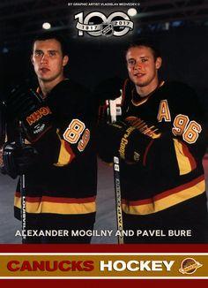 100% Alexander Mogilny and Pavel Bure